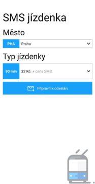 SMS Jízdenka - kupte si lístek