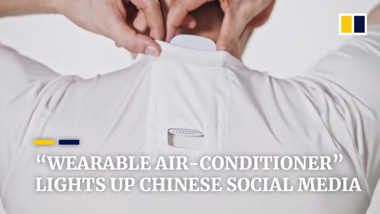 Sony has created a 'wearable air-conditioner'