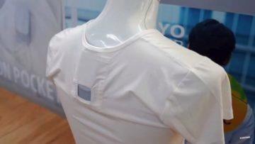 Sony - osobní klimatizace za krk