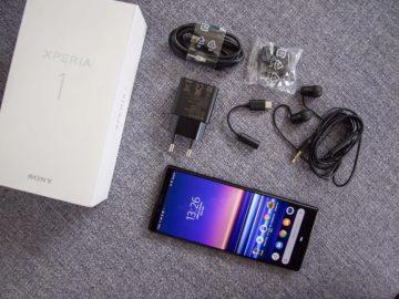 Sony Xperia 1 balení