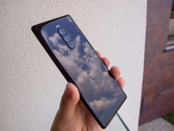 Sony Xperia 1  zadní strana