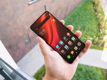 Xiaomi Mi 9T držení
