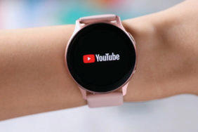 youtube aplikace galaxy watch active2