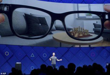 facebook brýle rozšířená realita