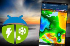 Aplikace WeatherBug poradí, zda obléci tričko, nebo pláštěnku