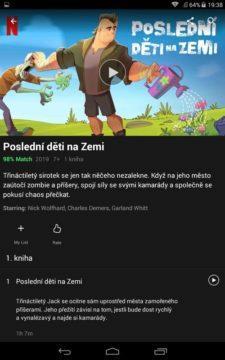český netflix rozhraní