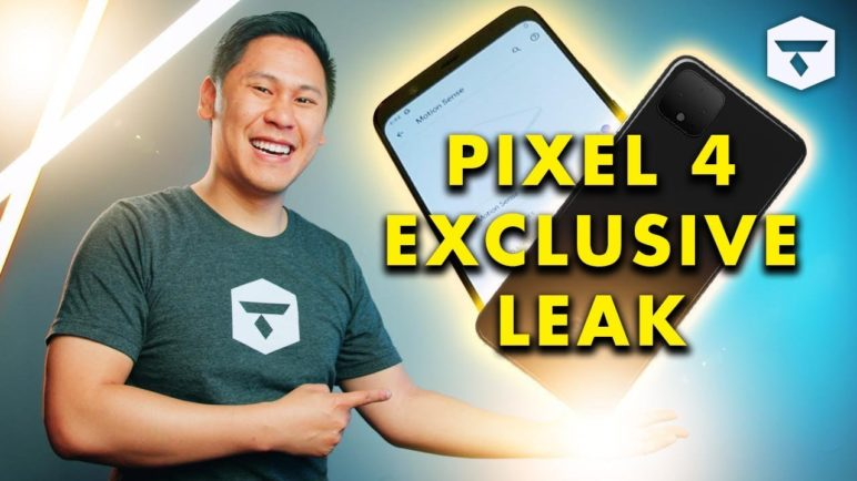 EXCLUSIVE: GOOGLE PIXEL 4 LEAK - Video of Motion Sense/Project Soli (And a Summary of Leaks - Pt. 2)