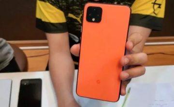 pixel 4 korálová barva