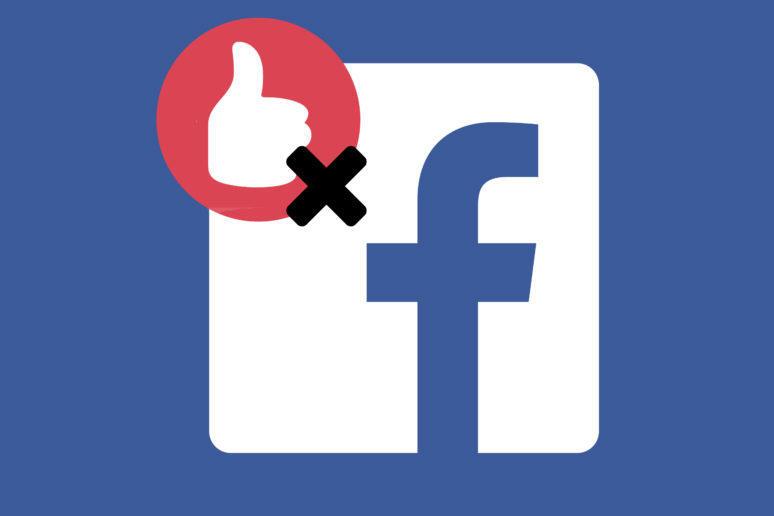 facebook bez lajků