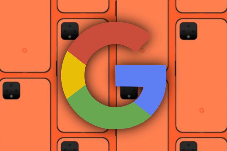 google pixel 4 korálová