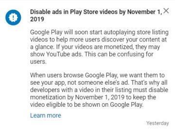 google play automaticke prehravani videi