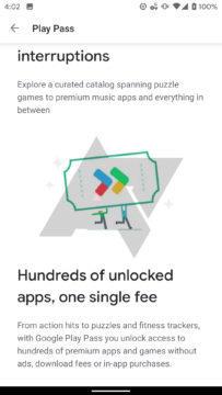 google play pass obchod