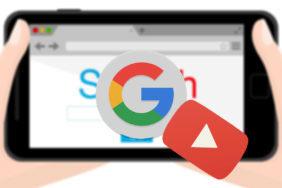 google úseky videí