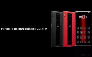 huawei mate 30 pro rs porsche design
