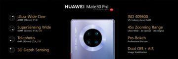 huawei mate 30 pro fotoaparát