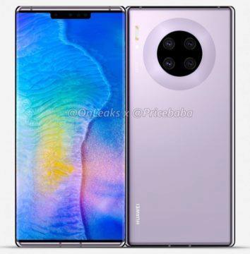 Huawei Mate 30 Pro displej