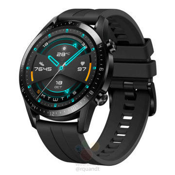 Huawei Watch 2 GT Sport design
