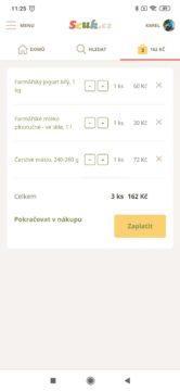 Nákupní košík Scuk.cz