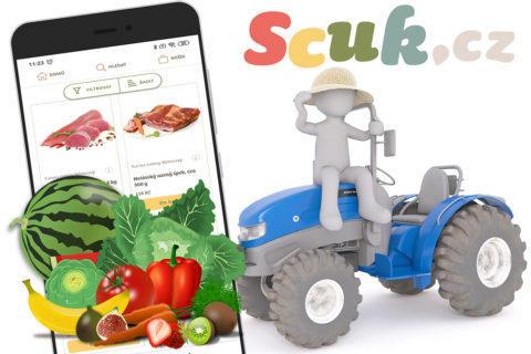 Nebaví vás nákupy v supermarketu? Nakupte u farmářů s aplikací Scuk.cz