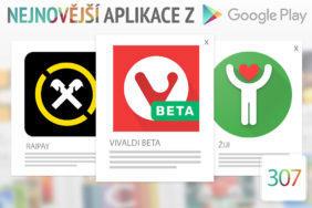 Nejnovější aplikace z Google Play #307: nový webový prohlížeč