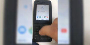 tlačítková nokia android