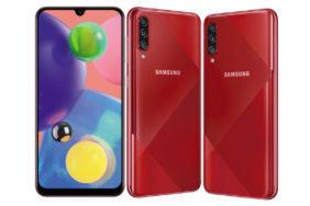 predstaveni telefonu Samsung Galaxy A70s