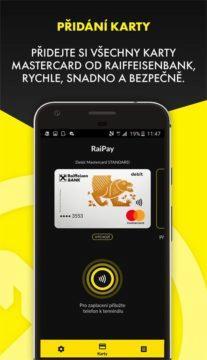 RaiPay - bezkontaktní platby