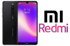 redmi 8 design spekulace