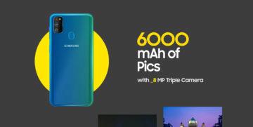 Samsung Galaxy A30s teaser