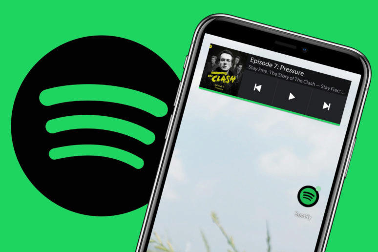 spotify widget android