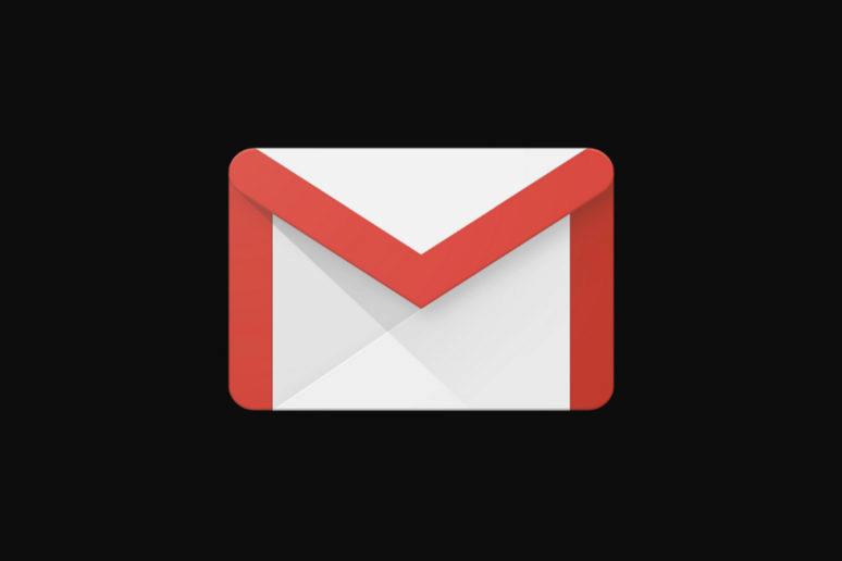 tmavý režim gmail