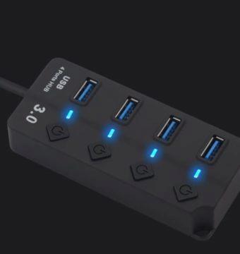 USB hub klávesnice a mš k mobilu
