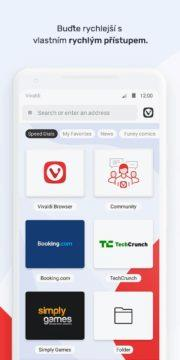 Vivaldi Beta - nový webový prohlížeč