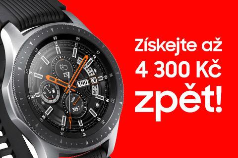 Samsung Galaxy Watch výhodná koupě