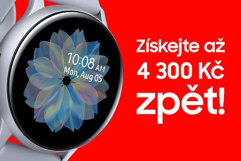 Samsung Galaxy Watch akce