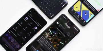 android 10 dark mode