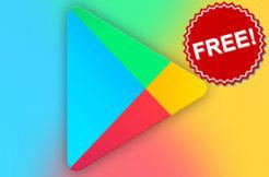 aplikace a hry dočasně zdarma google play