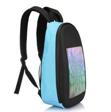 batoh s barevným displejem