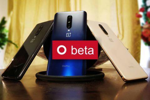 beta update pro telefony OnePlus 7
