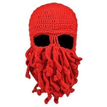 chobotnice zimní čepice
