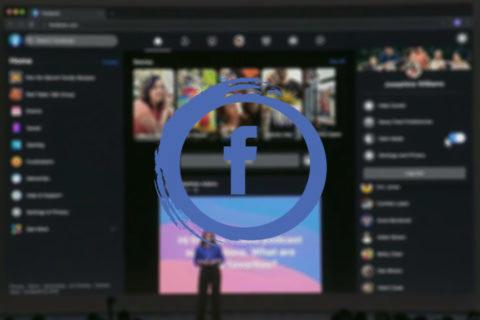 facebook nové prostředí web tmavý režim