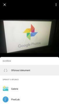 Fotky Google ořezávají s perspektivou Ořezat dokument