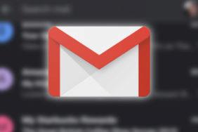 gmail tmavý režim dark mode