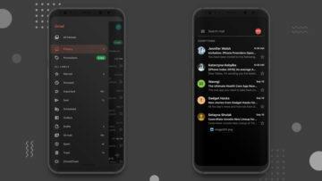 gmail tmavý režim úspora baterie