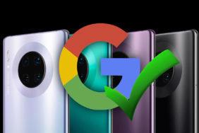 google aplikace huawei mate 30 pro