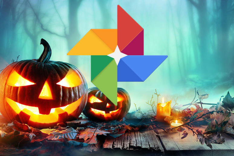 google fotky halloween easter egg