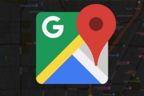 google mapy tmavý režim