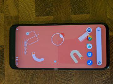 google pixel 4 android 10 gesta