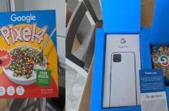google pixel 4 cerálie balení