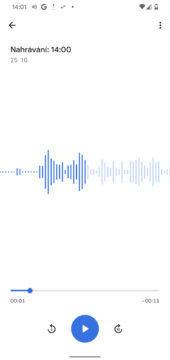 google pixel 4 diktafon